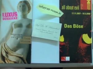 Das Übersee-Museum und all about evil