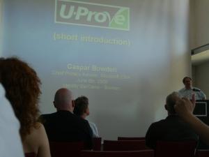 U-Prove CasparB Identitycamp Bremen 2008