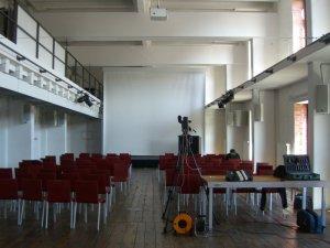 Raum identity lounge auf dem Identitycamp