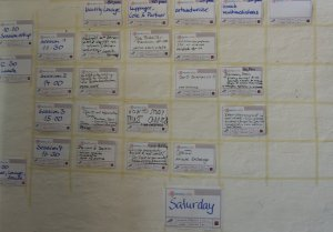 Identitycamp Sessions timetable