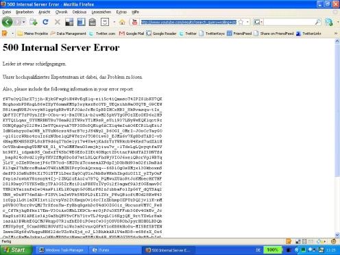 youtubeerrorsite
